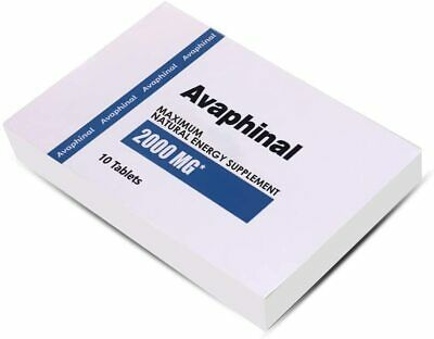 Avaphinal Natural Male Enhancement Performance Stamina booster 10 Pills