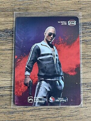 2021 Characters Out For Blood 3 Epics-gg PUBG Mobile Mint  A178 Foil Holo