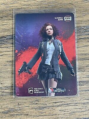 2021 Characters Out for Blood 7 Epics-gg PUBG Mobile Mint  A318 Holo Foil