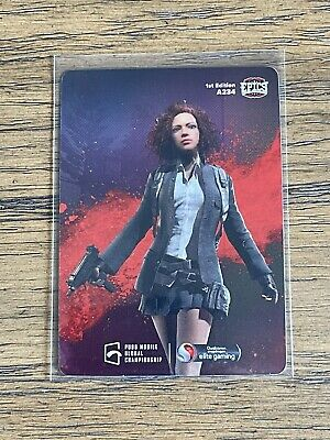 2021 Characters Out for Blood 7 Epics-gg PUBG Mobile Mint  A234 Holo Foil