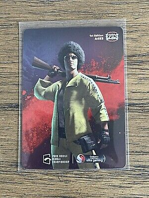2021 Characters Out For Blood 6 Epics-gg PUBG Mobile Mint  A453 Foil Holo
