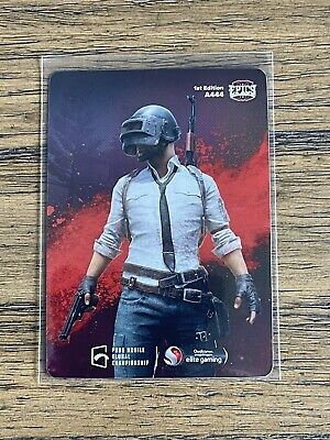 2021 Characters Out For Blood 1 Epics-gg PUBG Mobile Holo Foil Mint  A444