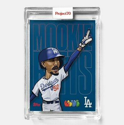 Topps PROJECT 70 Card 412 - Mookie Betts by Blue the Great - PRESALE