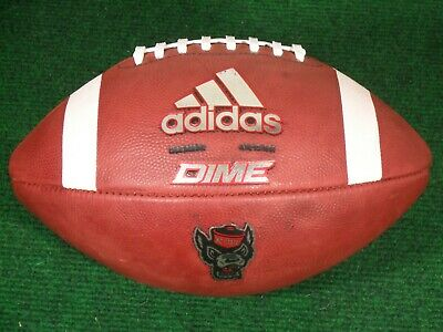 New Adidas Dime NC State Wolfpack Team Issue Game College Football Ball USA