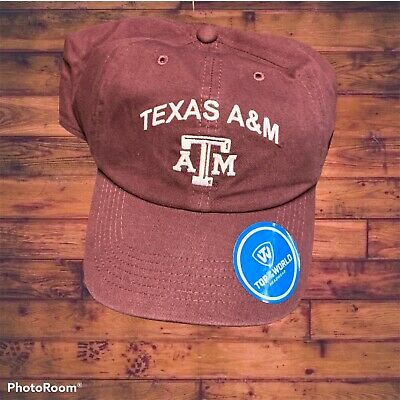 TEXAS A-M AGGIES style Adjustable College Football Hat