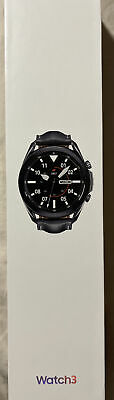 Samsung Galaxy Watch3 SM-R840 45mm Stainless Steel Case with Leather Strap -