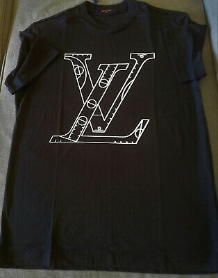 Louis Vuitton NBA Front and Back Printed T-shirt size L