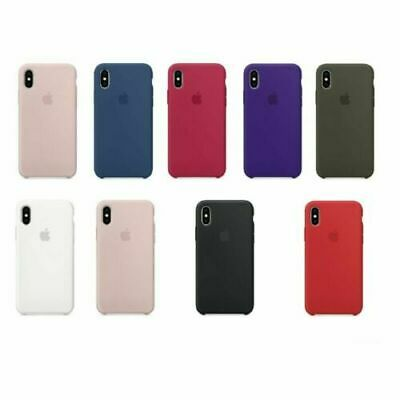 For New Apple iPhone 7 8 Plus X XR XS 11 12 Pro Max Mini SE Silicone Case Cover