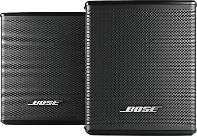 Bose - Wireless Surround Speakers for Home Theater Pair - Black