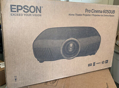 Brand New Sealed Epson 6050UB projector with factory Warranty - Read to ship