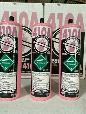 R410A Refrigerant  3 NEW FACTORY SEALED 6 LBS- FREE SAME DAY Shipping by 3pm
