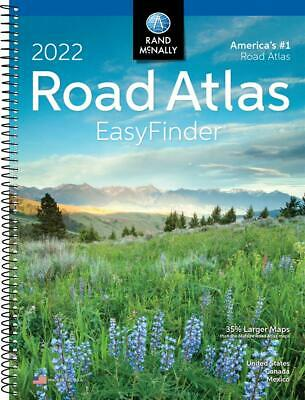 Rand Mcnally USA Road Atlas 2022 BEST Large Scale Travel Maps United States NEW