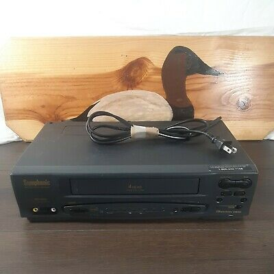 Symphonic VCR Model SL260A S-VHS VHS Fully Tested Works Great