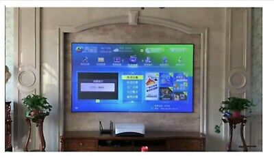 Brand New in box 120inch ALR PET Crystal Fixed Narrow Frame screen-