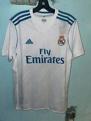 Real Madrid Home Jersey 1718 Adult Small
