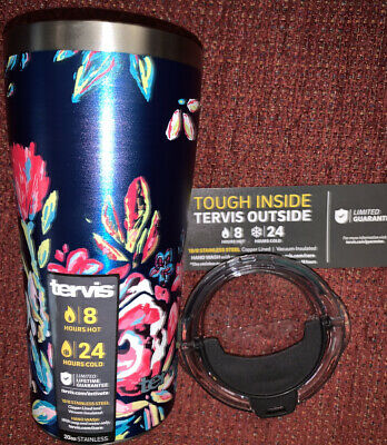 TERVIS STAINLESS STEEL 20 OUNCE TUMBLER WITH LID NEW