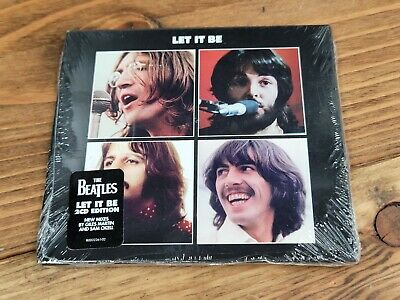 BEATLES CD - LET IT BE SPECIAL EDITION 2CD DELUXE EDITION2021 - NEW UNOPENED
