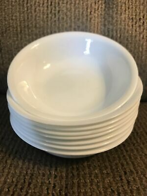 Eight 8 Corelle Winter Frost White 5 38 Berry Bowls