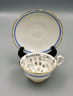 Aynsley England CUP OF KNOWLEDGE Cup - Saucer RdNo 702537