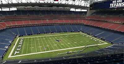 4 HOUSTON TEXANS VS- LOS ANGELES CHARGERS TICKETS - SIDELINE SEATS