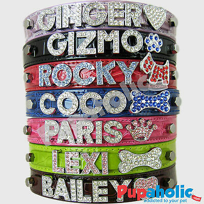 Croc Dog Cat Pet Personalized Collar - XS S M L XL