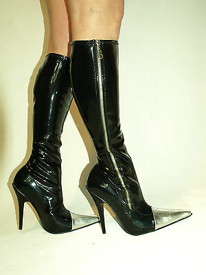 HIGH HEELS STIEFEL 100 LACK PU SIZE 35 47 HEELS 13CM PRODUCER OF POLAND