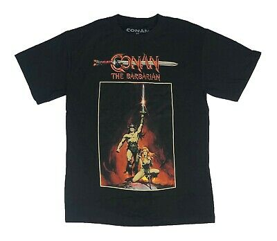 Conan The Barbarian Valeria Arnold Schwarzenegger Vintage Retro Movie T Shirt XS