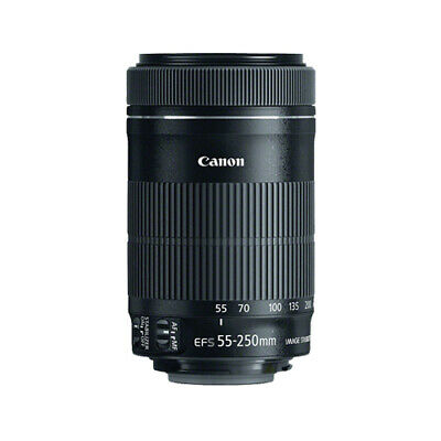 Canon EF-S 55-250mm F4-5-6 IS STM Lens for Canon SLR Cameras