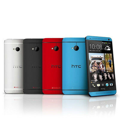 4-7 New HTC ONE M7 Unlocked Quad-core Android Smartphone - 32GB 4MP - 5 Colors
