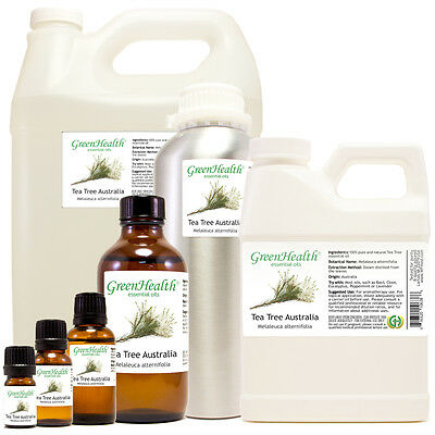 Tea Tree Australia Essential Oil 100 Pure Choice from 5ml to 1 gallon FreeShip