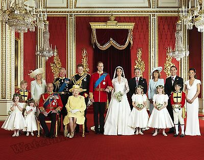 Photograph Royal Wedding Kate Middleton - Prince William  2011  8x10