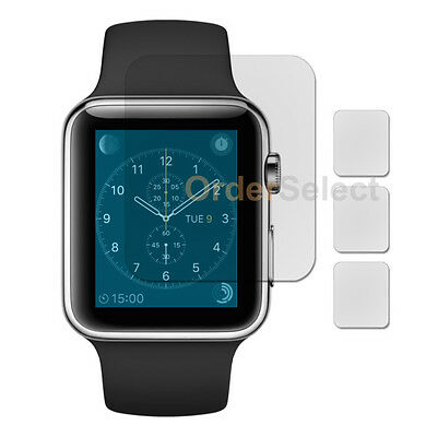 3X Ultra Clear LCD Screen Protector for Apple iWatch Watch 1st Gen 42mm 100-SOLD