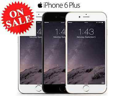 Apple iPhone 6 Plus Factory Unlocked T-Mobile AT-T Verizon Gray Silver Gold