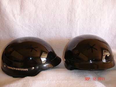 Harley Davidson  Half Style Motorcycle Helments Priced as each