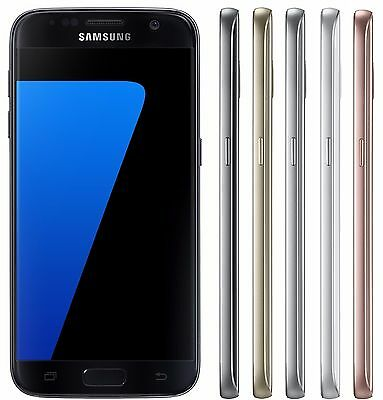 Samsung Galaxy S7 Duos SM-G930FD FACTORY UNLOCKED 5-1 Black Silver Gold Pink
