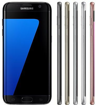 Samsung Galaxy S7 EDGE Duos SM-G935FD FACTORY UNLOCKED Black Blue Silver Gold