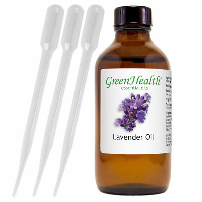 4 fl oz Lavender Essential Oil 100 Pure - Natural - GreenHealth