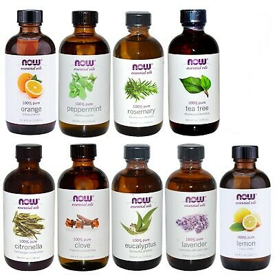 NOW Foods 4 oz Essential Oils with Optional Glass Dropper - FREE SHIPPING