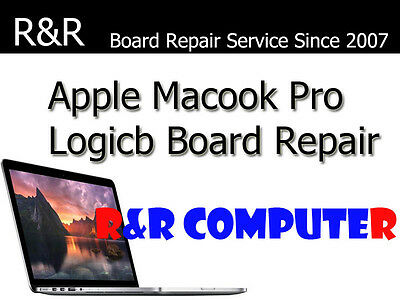 APPLE MACBOOK PRO 91 A1286 15 MID 2012 LOGIC BOARD REPAIR NEW CHIPSET