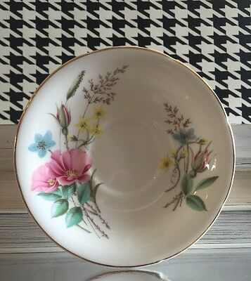 VINTAGE ROYAL GRAFTON FINE BONE CHINA ENGLAND SAUCER