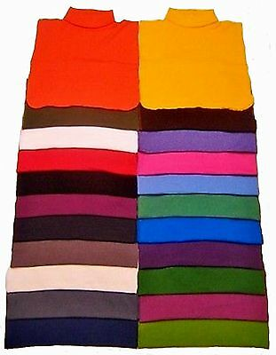 MOCK NECK DICKIES 100 COTTON MADE IN USA DIRECT FROM MANUFACTURER FREE SHIPPING
