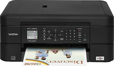 Brother MFC-J485DW Wireless All-In-One Color Printer w Print Copy Scan Fax