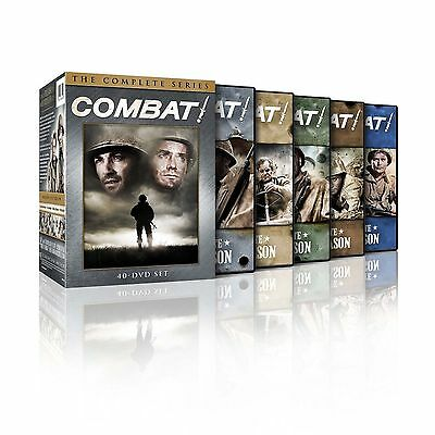 Combat The Complete Series DVD Seasons 12345 Disc Box Set New - Sealed