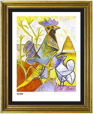 Pablo Picasso SignedHand-Numbered Ltd Ed Cock of Liberation  Litho unframed