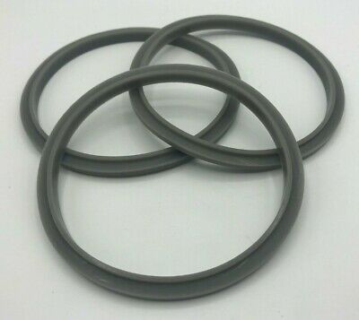 3 Rubber Gasket Compatible with Nutribullet 900W Extractor 600W Milling Blade
