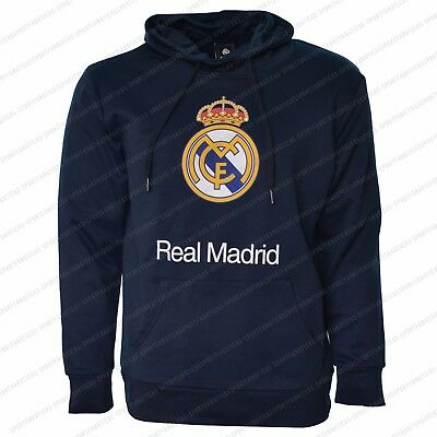 Real Madrid Hoodie adult Mens Fleece Sweatshirt Jacket new Season 2017- 2018