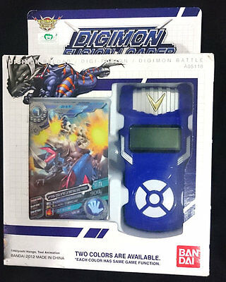NEW Bandai Digimon Xros Wars BLUE Fusion Loader Digivice English Date Link NEO