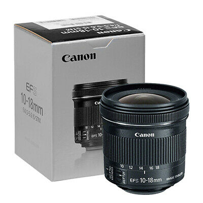 Canon EF-S 10-18mm f4-5-5-6 IS STM Lens