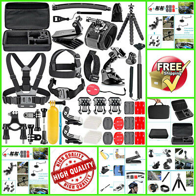 Neewer 50-In-1 Action Camera Accessory Kit for GoPro Hero 45 Session Hero Yi