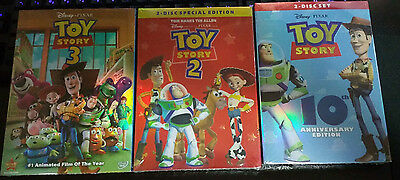 Toy Story Trilogy DVD Box Set Toy Story 1 2 3 New Sealed Free Shipping